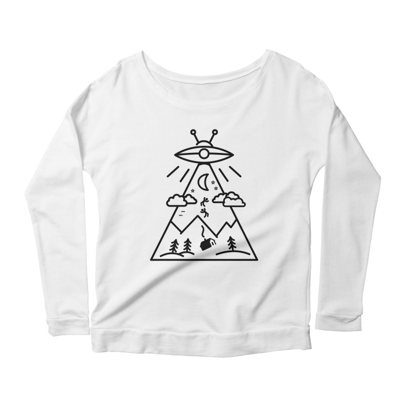 They Want Us Women's Scoop Neck Longsleeve T-Shirt by 38 Sunsets