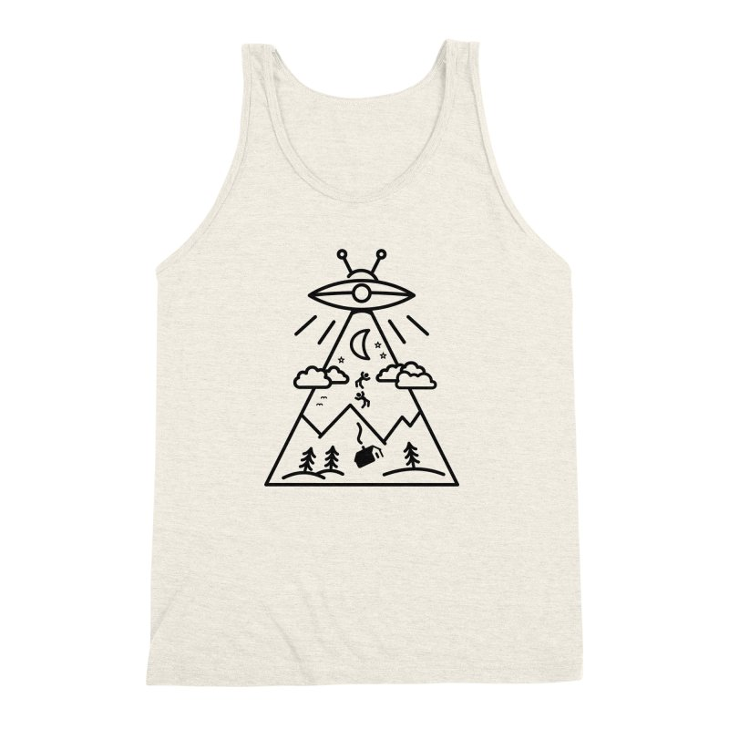 They Want Us Men's Triblend Tank by 38 Sunsets