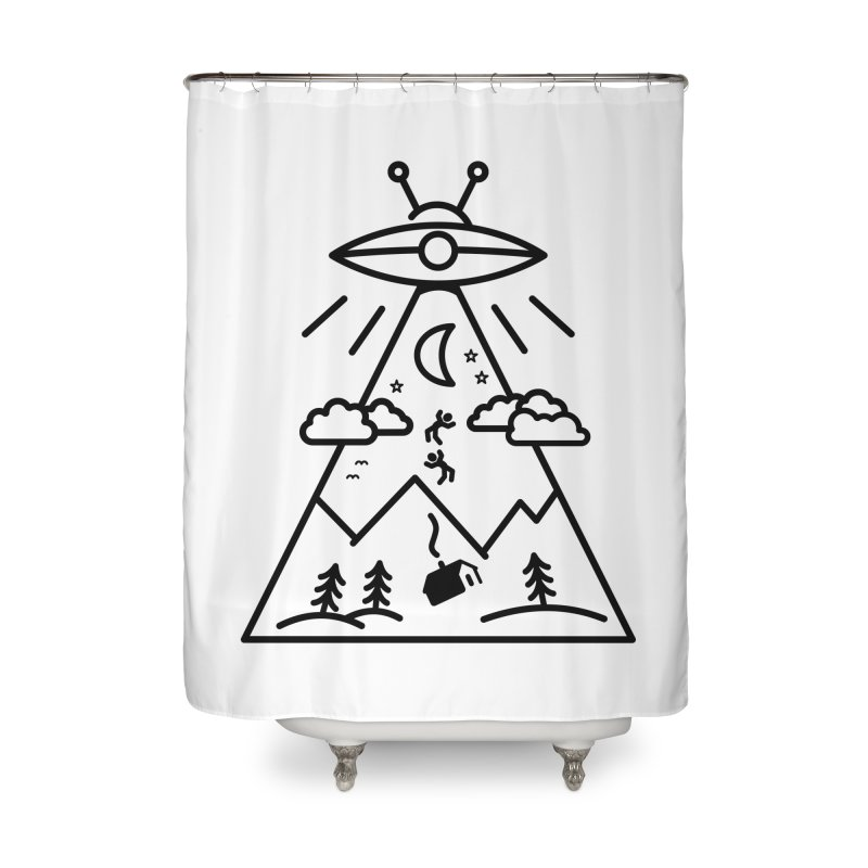 They Want Us Home Shower Curtain by 38 Sunsets