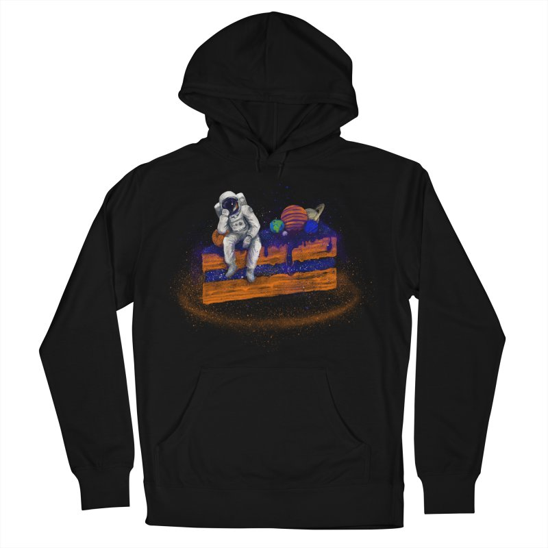 Space Cake Women's French Terry Pullover Hoody by 38 Sunsets