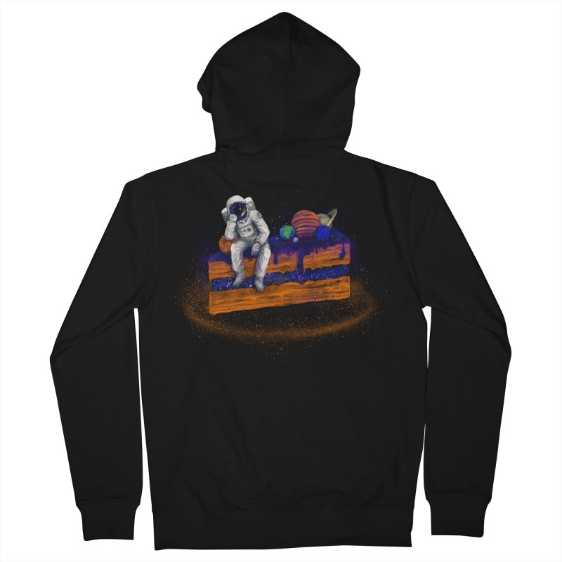 Space Cake Men's French Terry Zip-Up Hoody by 38 Sunsets