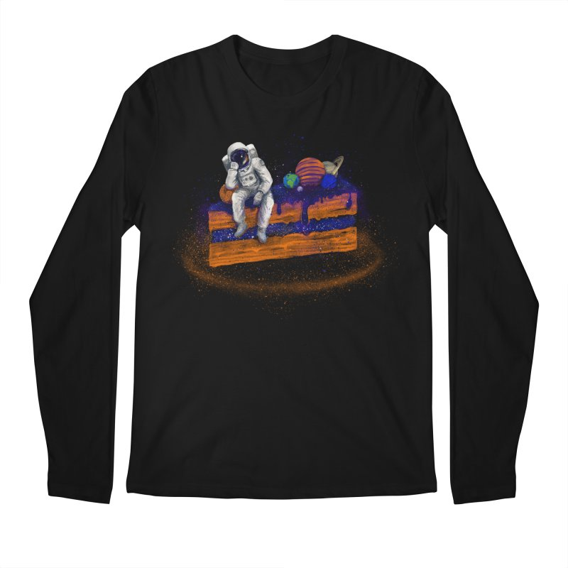 Space Cake Men's Regular Longsleeve T-Shirt by 38 Sunsets