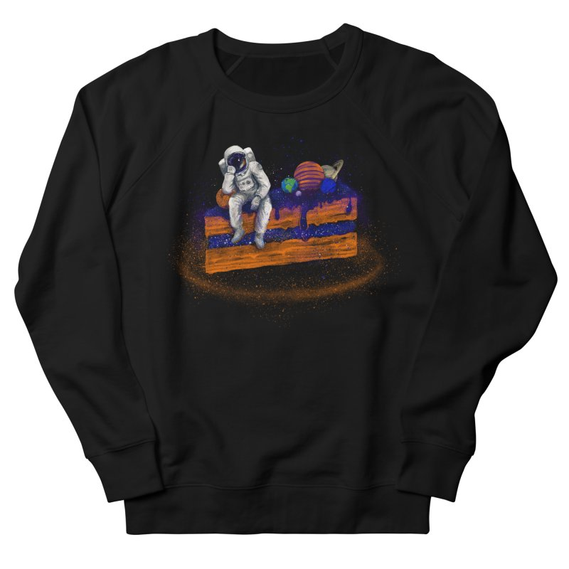 Space Cake Men's French Terry Sweatshirt by 38 Sunsets