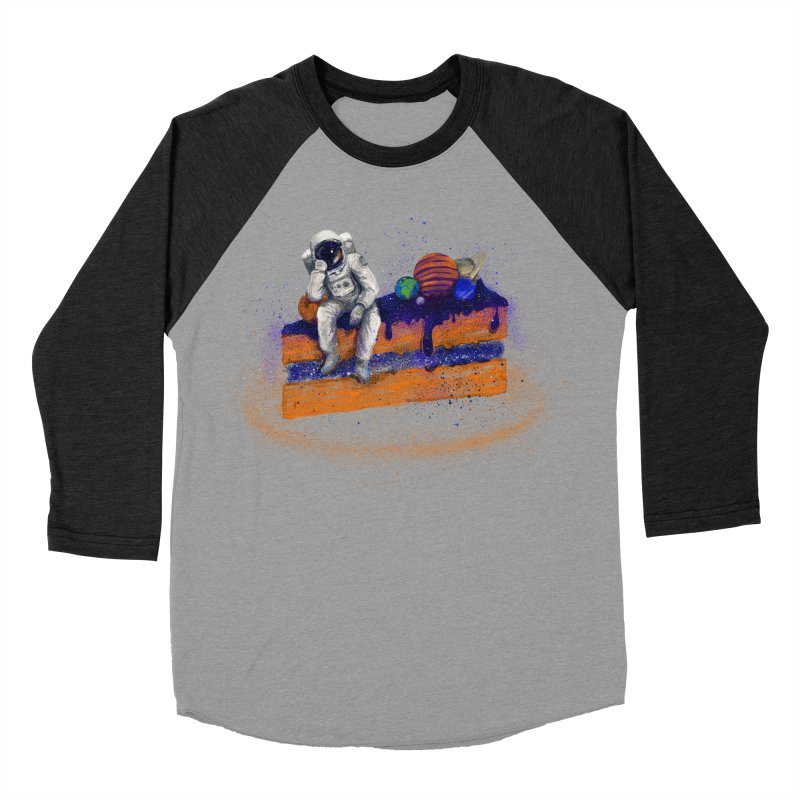 Space Cake Women's Baseball Triblend T-Shirt by 38 Sunsets