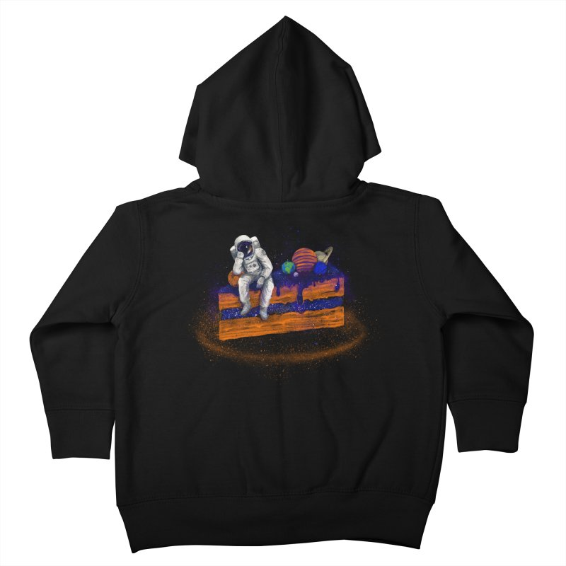 Space Cake Kids Toddler Zip-Up Hoody by 38 Sunsets