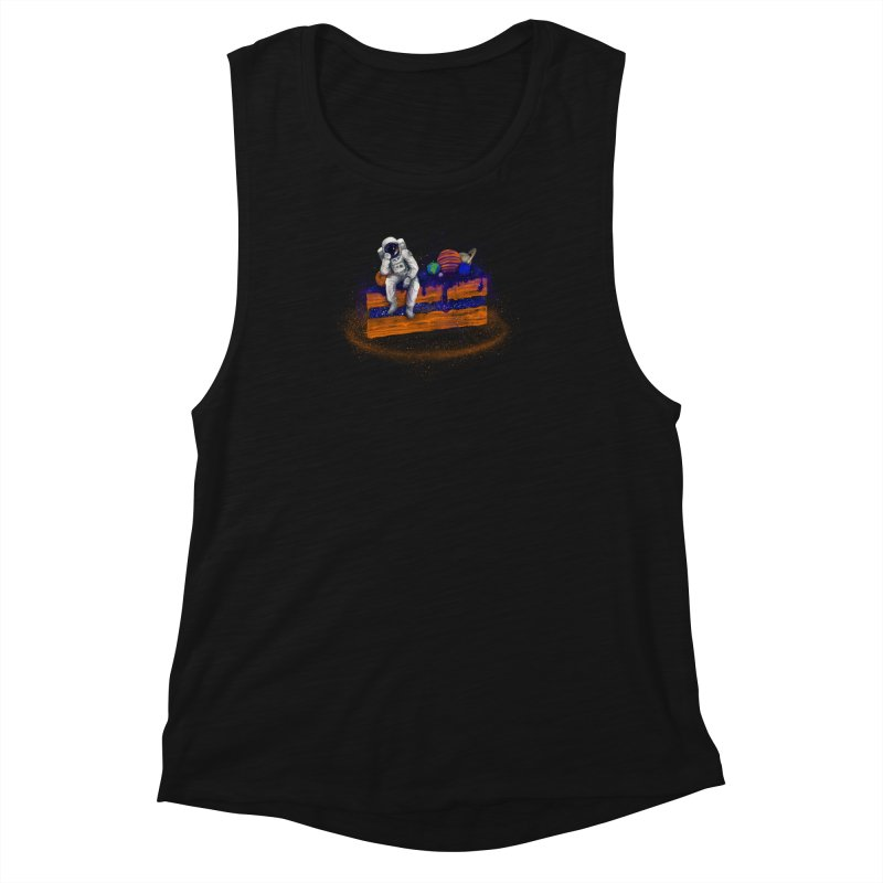 Space Cake Women's Muscle Tank by 38 Sunsets