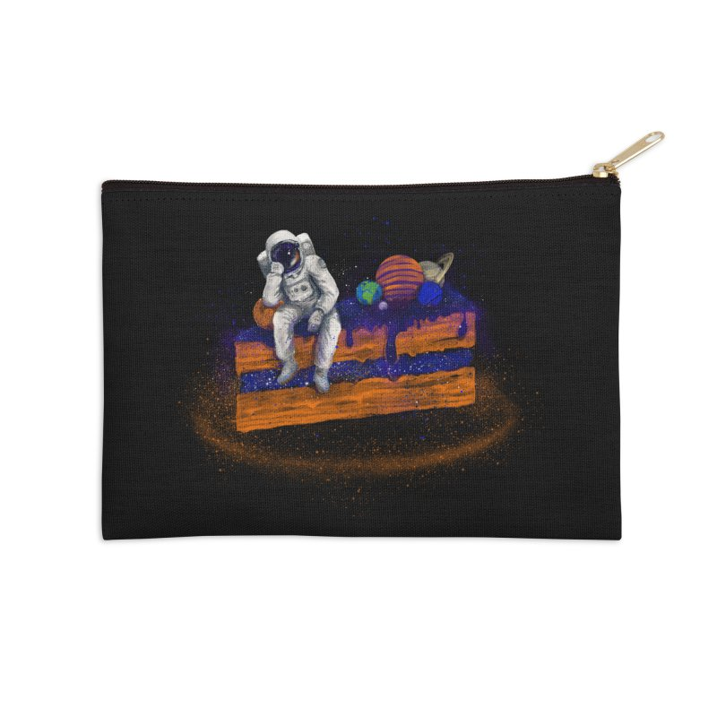 Space Cake Accessories Zip Pouch by 38 Sunsets