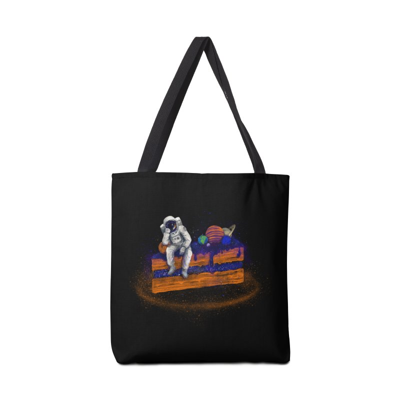 Space Cake Accessories Tote Bag Bag by 38 Sunsets