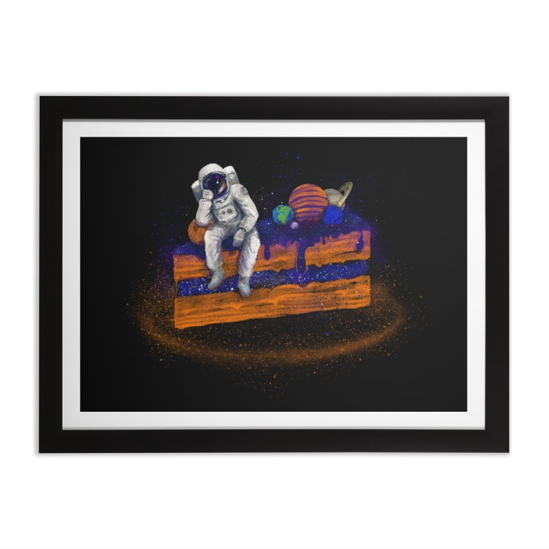 Space Cake Home Framed Fine Art Print by 38 Sunsets