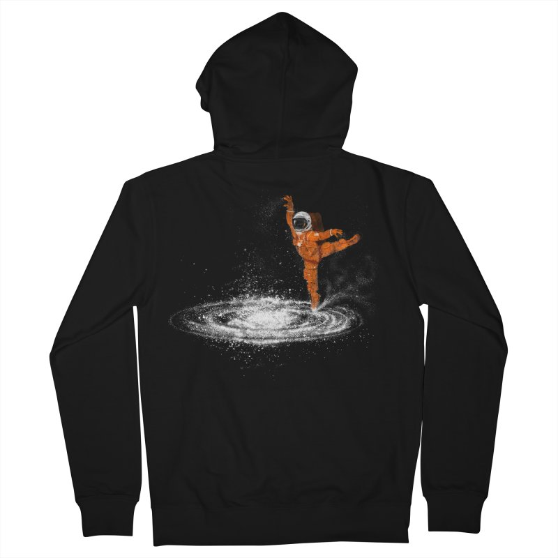 Space Dance Women's French Terry Zip-Up Hoody by 38 Sunsets