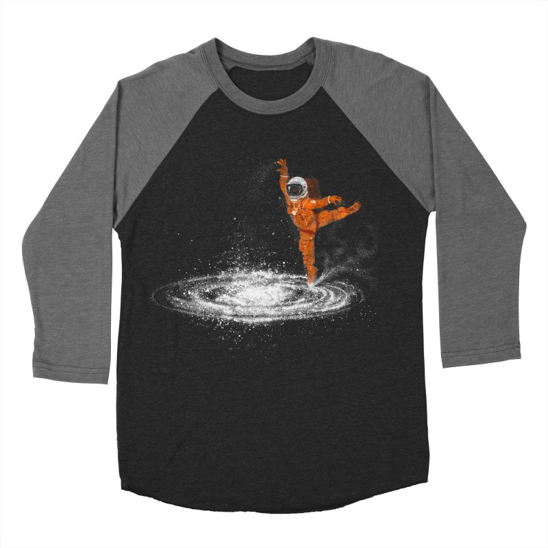 Space Dance Men's Baseball Triblend Longsleeve T-Shirt by 38 Sunsets