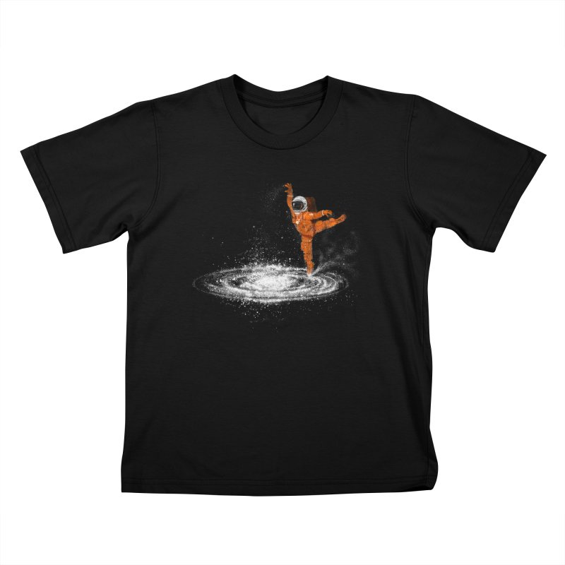 Space Dance Kids T-Shirt by 38 Sunsets