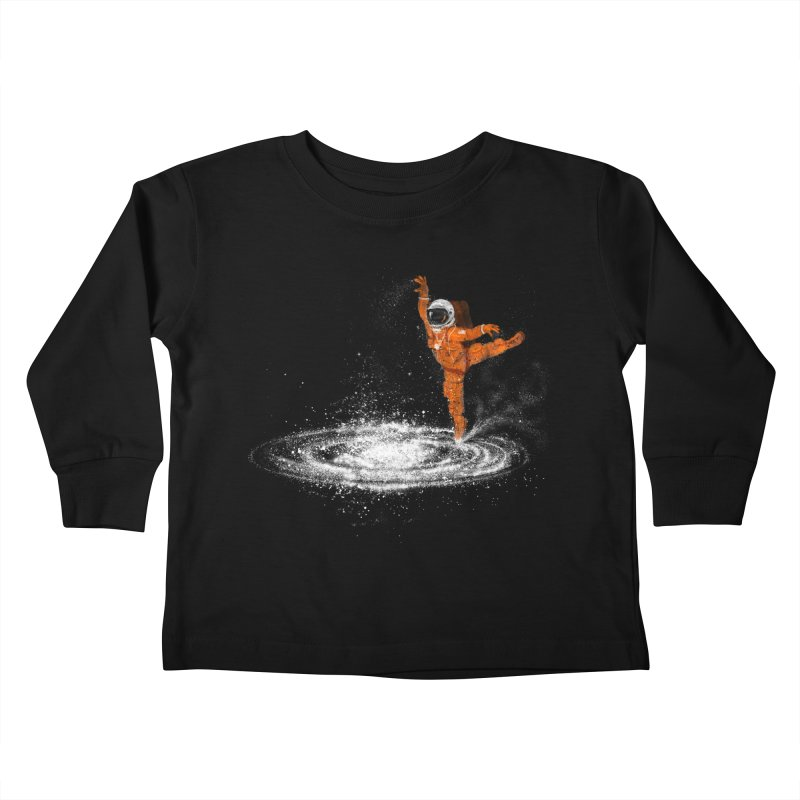 Space Dance Kids Toddler Longsleeve T-Shirt by 38 Sunsets