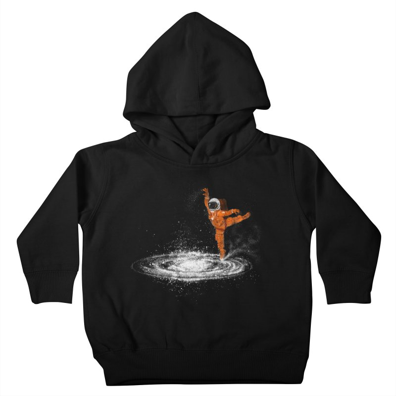 Space Dance Kids Toddler Pullover Hoody by 38 Sunsets
