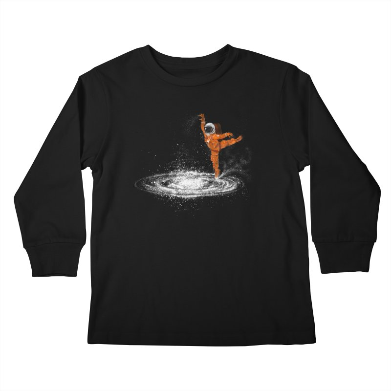 Space Dance Kids Longsleeve T-Shirt by 38 Sunsets