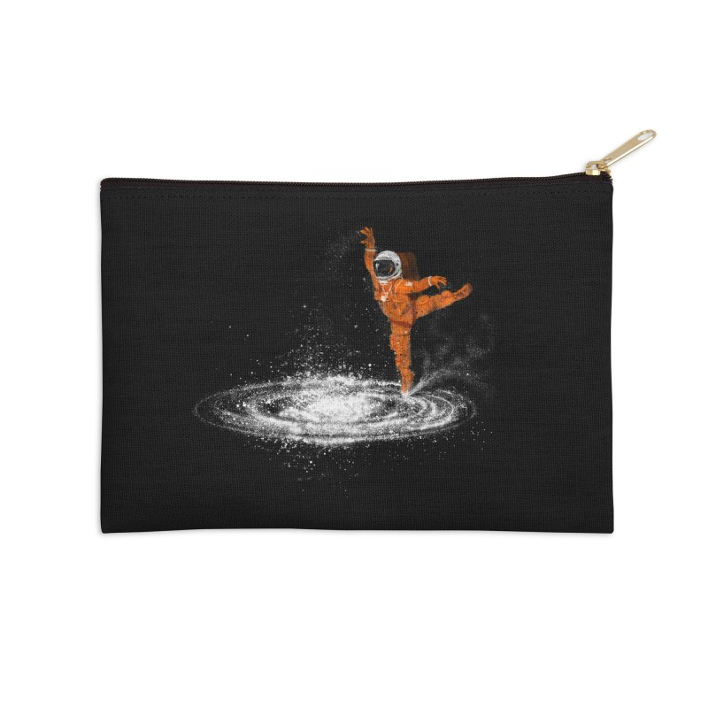Space Dance Accessories Zip Pouch by 38 Sunsets