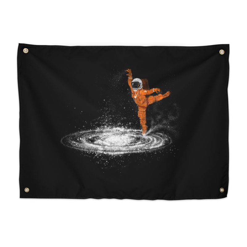 Space Dance Home Tapestry by 38 Sunsets
