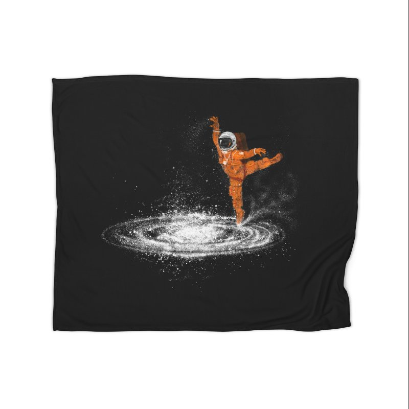 Space Dance Home Fleece Blanket by 38 Sunsets