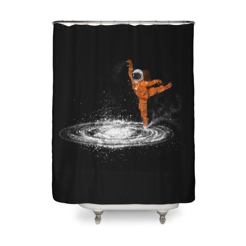 Space Dance Home Shower Curtain by 38 Sunsets