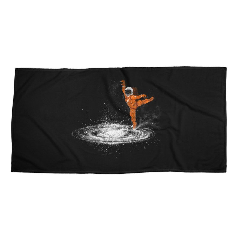 Space Dance Accessories Beach Towel by 38 Sunsets