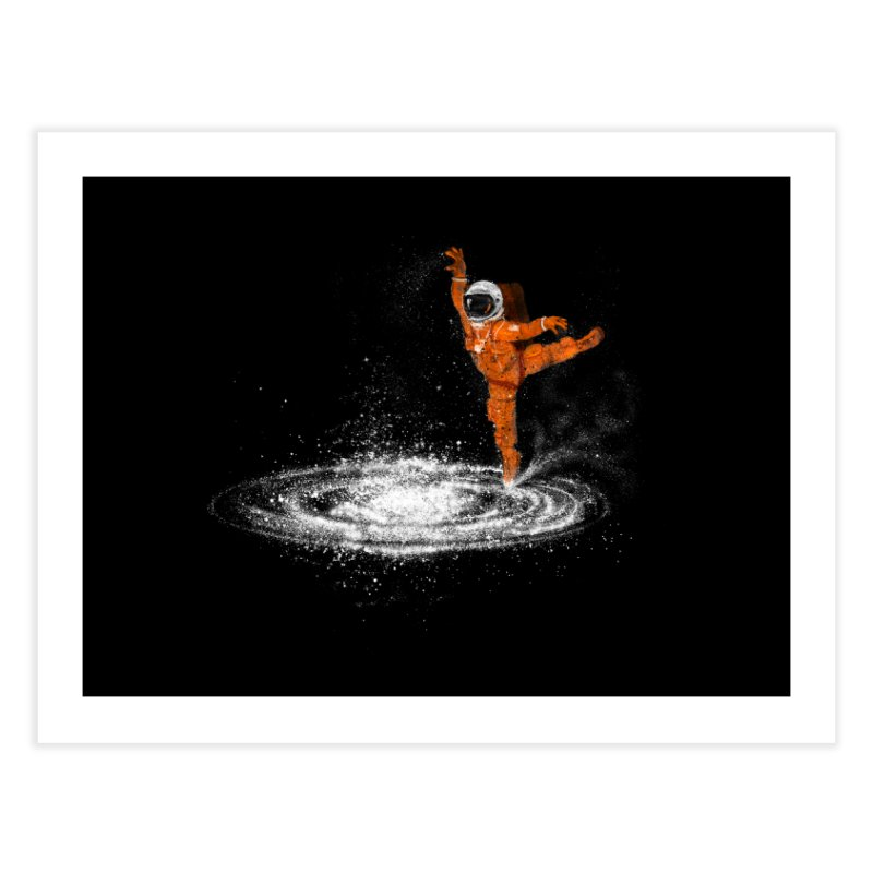 Space Dance Home Fine Art Print by 38 Sunsets