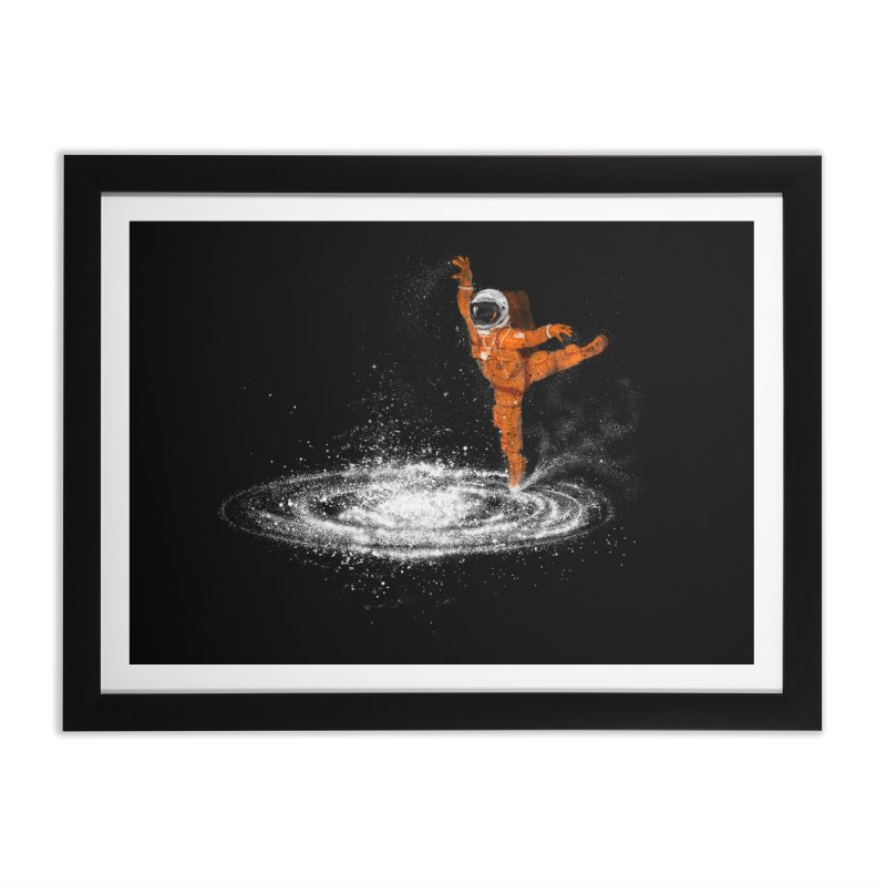 Space Dance Home Framed Fine Art Print by 38 Sunsets