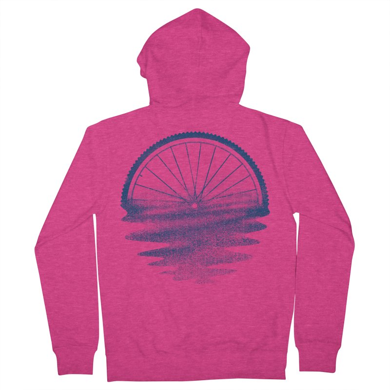 Blue Sunset Mystery Women's Zip-Up Hoody by 38 Sunsets