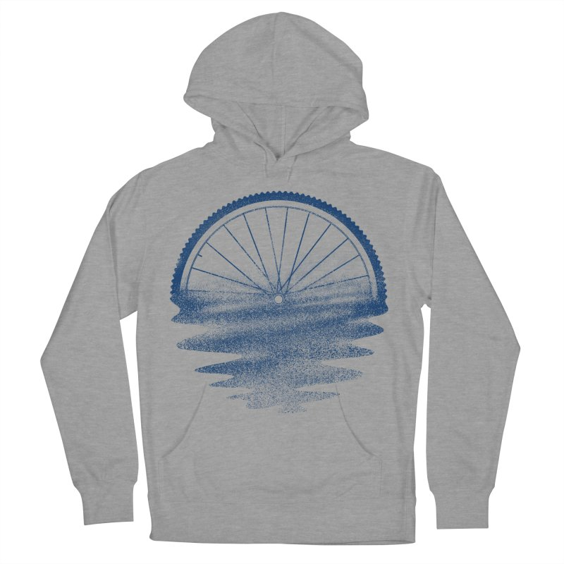 Blue Sunset Mystery Men's French Terry Pullover Hoody by 38 Sunsets