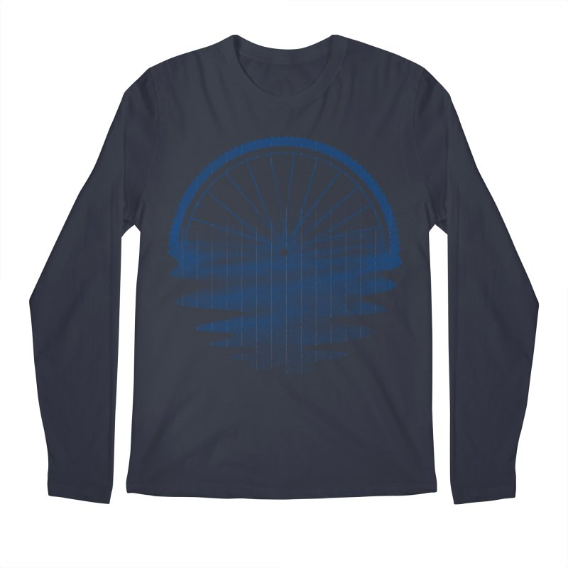 Blue Sunset Mystery Men's Regular Longsleeve T-Shirt by 38 Sunsets