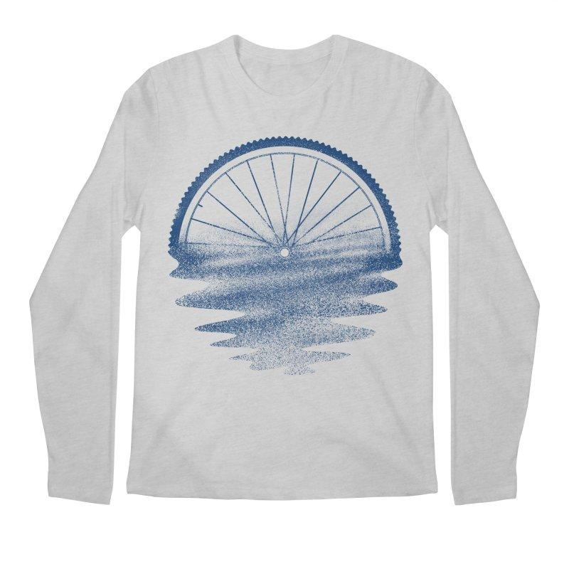 Blue Sunset Mystery Men's Regular Longsleeve T-Shirt by 38 Sunsets