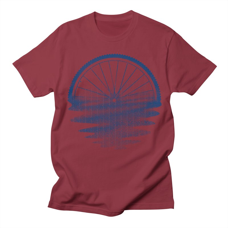 Blue Sunset Mystery Women's Unisex T-Shirt by 38 Sunsets