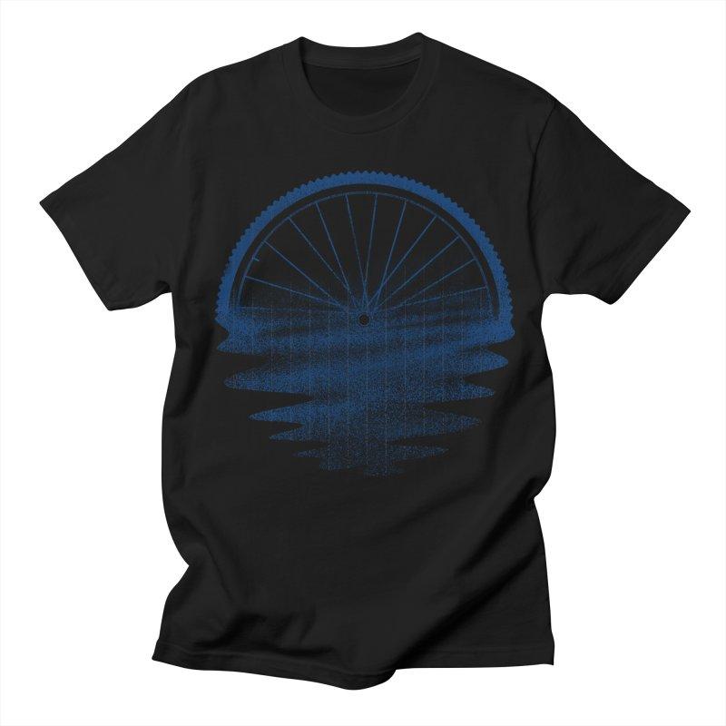 Blue Sunset Mystery Women's Regular Unisex T-Shirt by 38 Sunsets