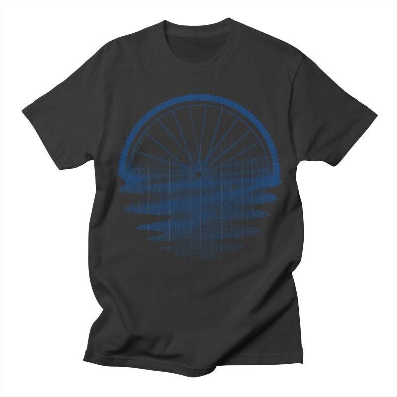 Blue Sunset Mystery Men's Regular T-Shirt by 38 Sunsets