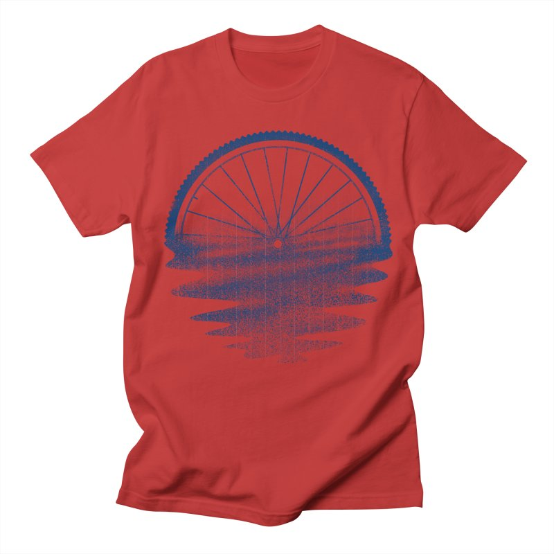 Blue Sunset Mystery Men's T-Shirt by 38 Sunsets