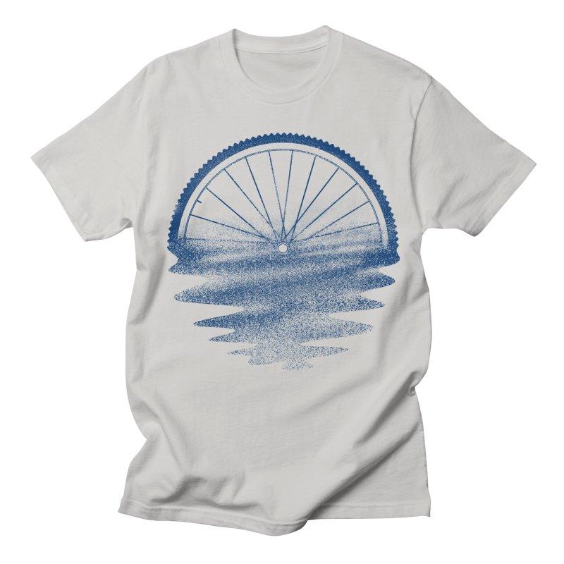 Blue Sunset Mystery Men's Regular T-Shirt by 38 Sunsets