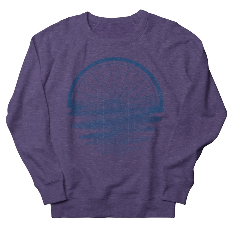 Blue Sunset Mystery Women's French Terry Sweatshirt by 38 Sunsets