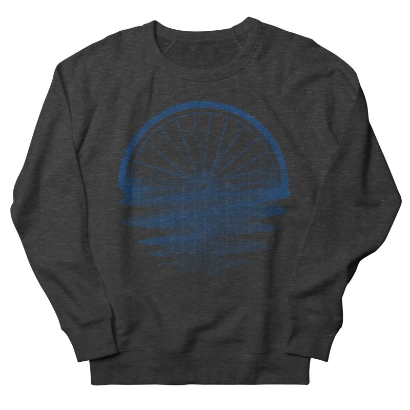 Blue Sunset Mystery Men's French Terry Sweatshirt by 38 Sunsets