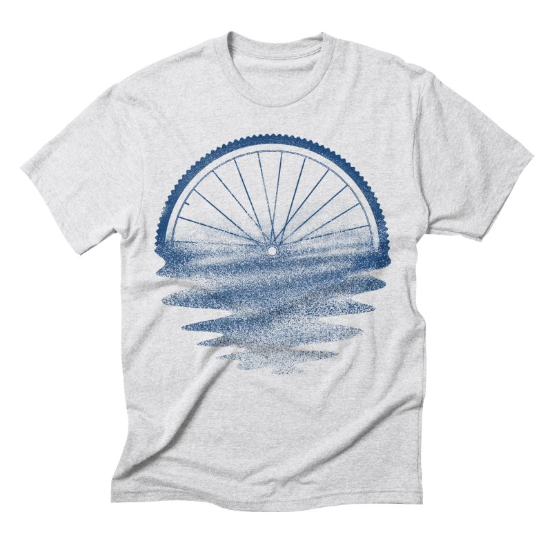 Blue Sunset Mystery Men's Triblend T-Shirt by 38 Sunsets