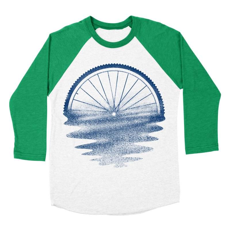 Blue Sunset Mystery Women's Baseball Triblend Longsleeve T-Shirt by 38 Sunsets