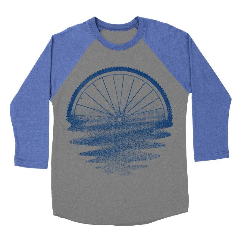 Blue Sunset Mystery Men's Baseball Triblend Longsleeve T-Shirt by 38 Sunsets