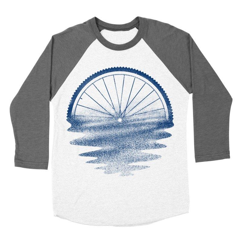 Blue Sunset Mystery Men's Baseball Triblend T-Shirt by 38 Sunsets