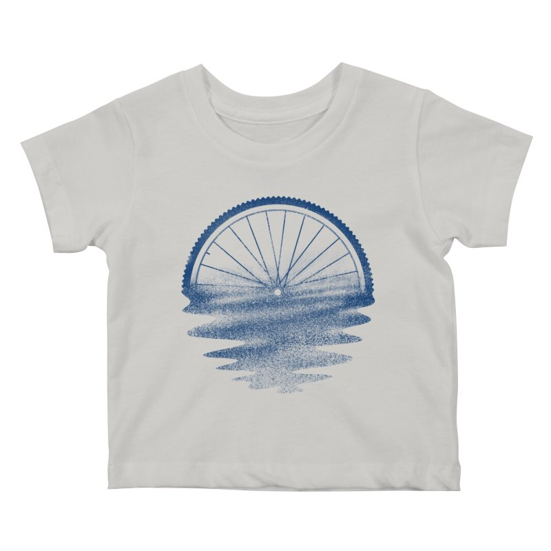 Blue Sunset Mystery Kids Baby T-Shirt by 38 Sunsets