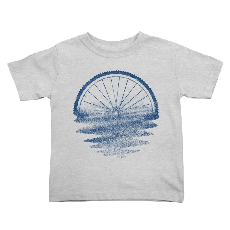 Blue Sunset Mystery Kids Toddler T-Shirt by 38 Sunsets