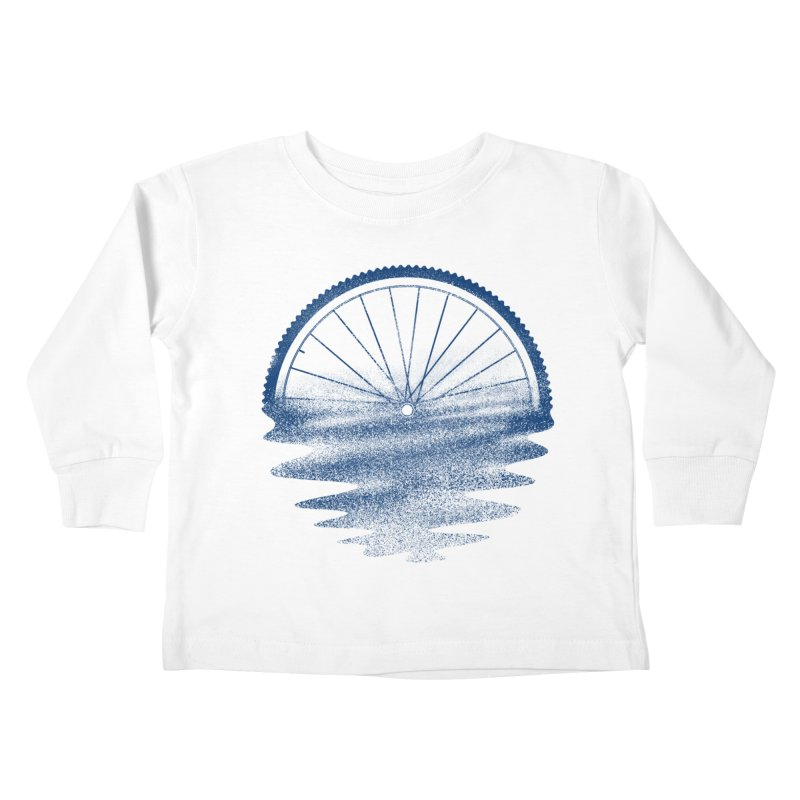 Blue Sunset Mystery Kids Toddler Longsleeve T-Shirt by 38 Sunsets