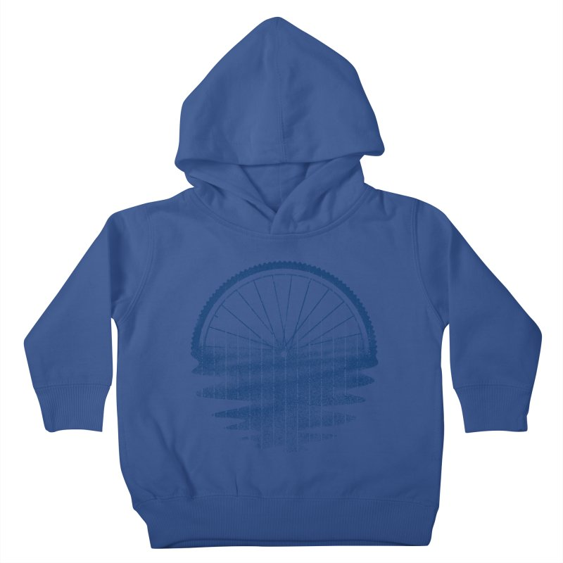 Blue Sunset Mystery Kids Toddler Pullover Hoody by 38 Sunsets