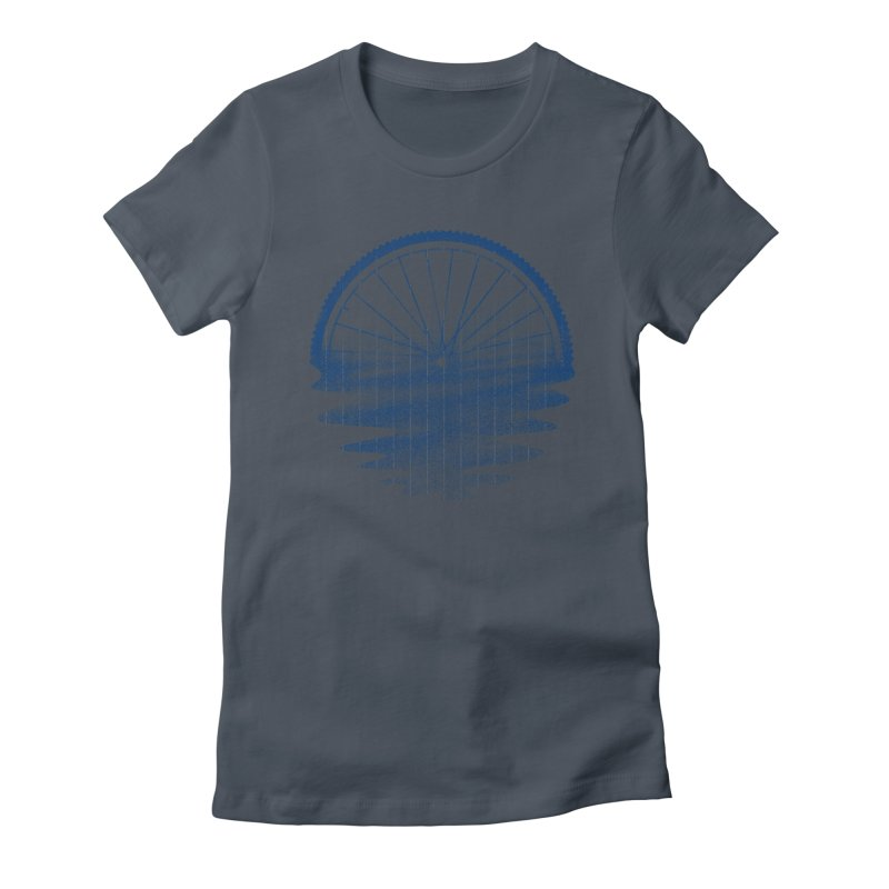 Blue Sunset Mystery Women's T-Shirt by 38 Sunsets