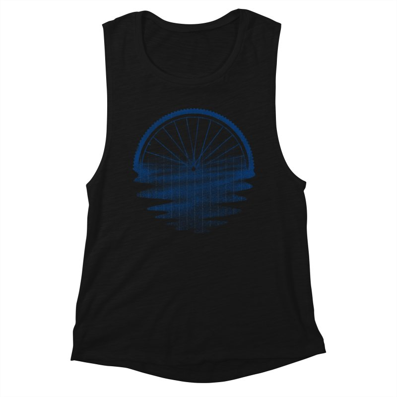 Blue Sunset Mystery Women's Tank by 38 Sunsets