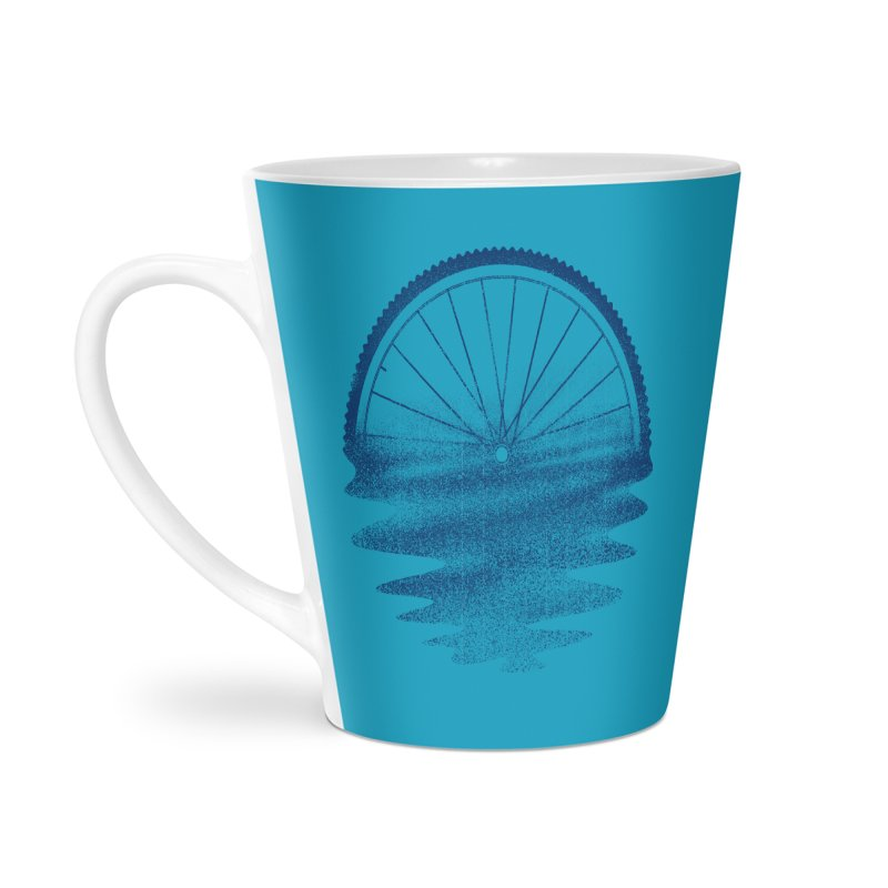 Blue Sunset Mystery Accessories Latte Mug by 38 Sunsets