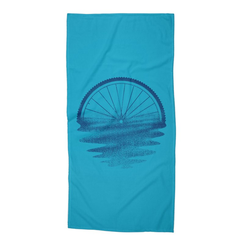 Blue Sunset Mystery Accessories Beach Towel by 38 Sunsets
