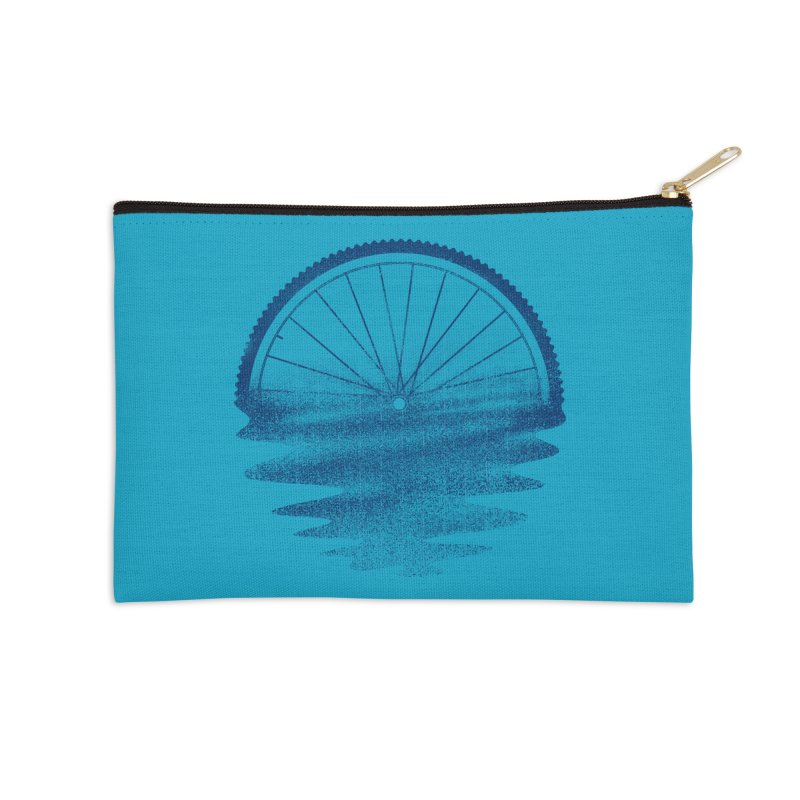 Blue Sunset Mystery Accessories Zip Pouch by 38 Sunsets
